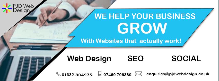 Web Design Derby | Website Design | SEO Specialists | PJD